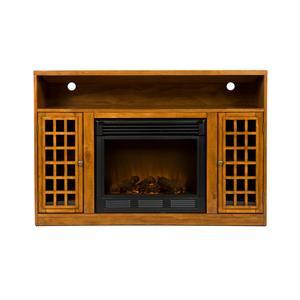 Southern Enterprises Fireplaces  Narita Media Console w/ Electric Fireplace