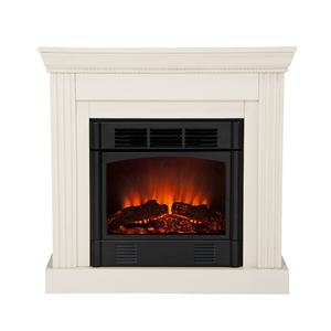 Southern Enterprises Fireplaces  Wexford Convertible Electric Fireplace