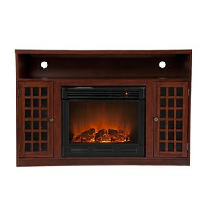 Southern Enterprises Fireplaces  Narita Media Electric Fireplace Unit