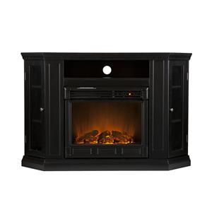 Southern Enterprises Fireplaces  Claremont Convertible Electric Fireplace