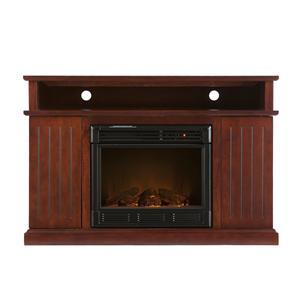 Southern Enterprises Fireplaces  Kingsbury Media Electric Fireplace
