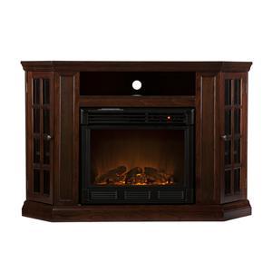 Southern Enterprises Fireplaces  Narita Convertible Electric Firplace