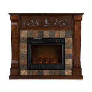 Southern Enterprises Fireplaces  St. Lawrence Electric Fireplace