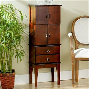 Southern Enterprises Jewelry Armoires Jewelry Armoire