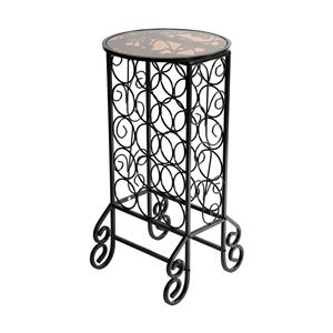 Southern Enterprises Occasional Tables Wine Table Rack