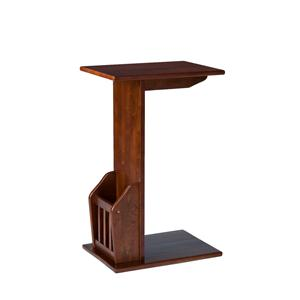 Southern Enterprises Occasional Tables Mission Magazine Snack Table