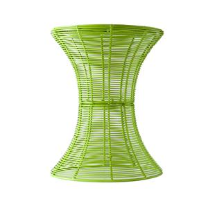 Southern Enterprises Occasional Tables Green Round Metal Accent Table