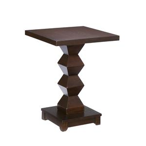 Southern Enterprises Occasional Tables Espresso Accent Table