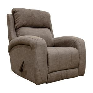 Smoke Rocker Recliner