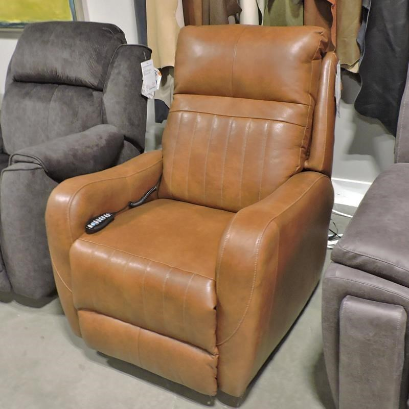 5166 Leather Power Recliner by Belfort Motion at Belfort Furniture