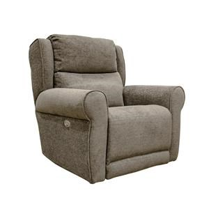 Mink Power Big Man's Recliner with Power Headrest and Power Footrest