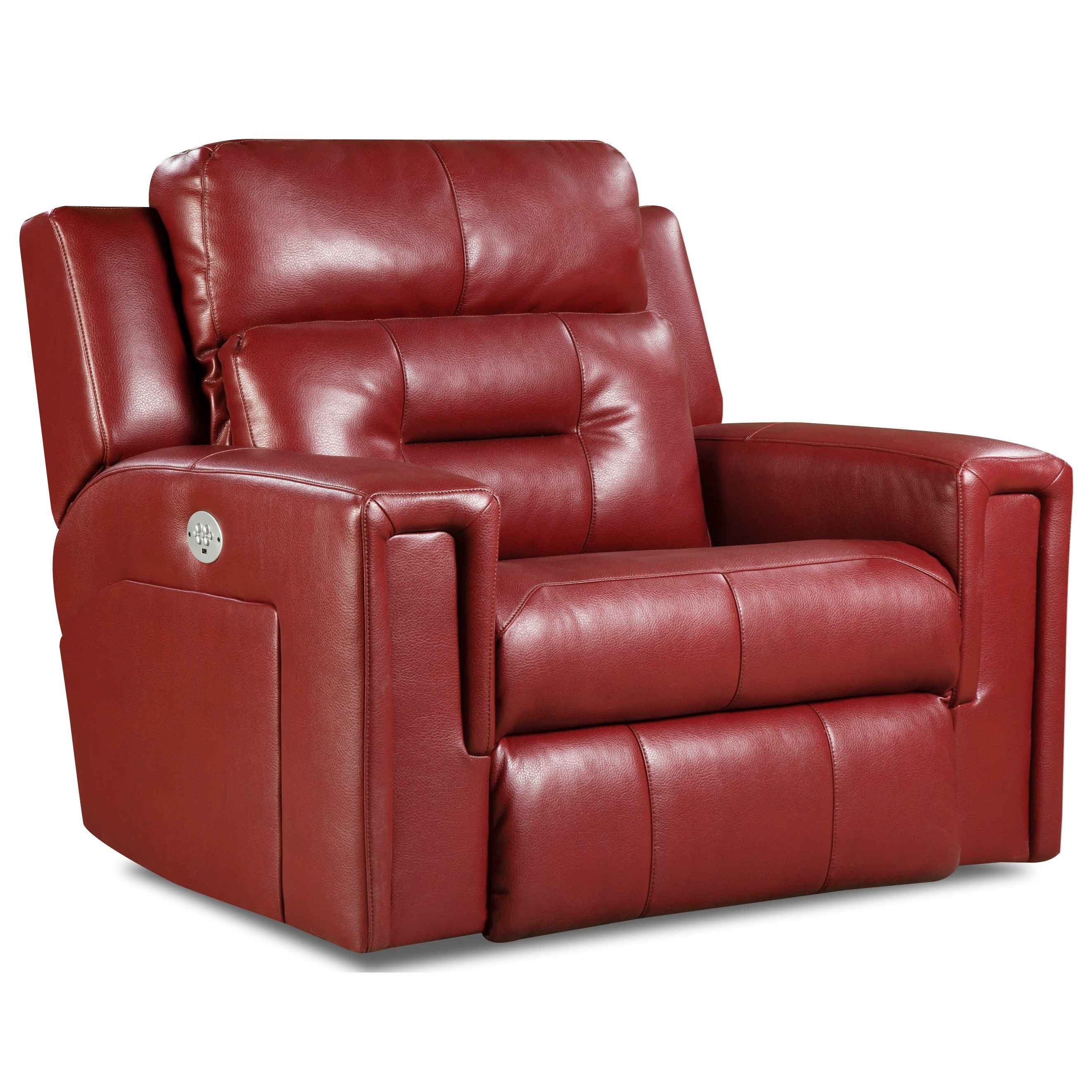 Excel Power Plus Reclining Chair and a Half by Southern Motion at Furniture Superstore - Rochester, MN