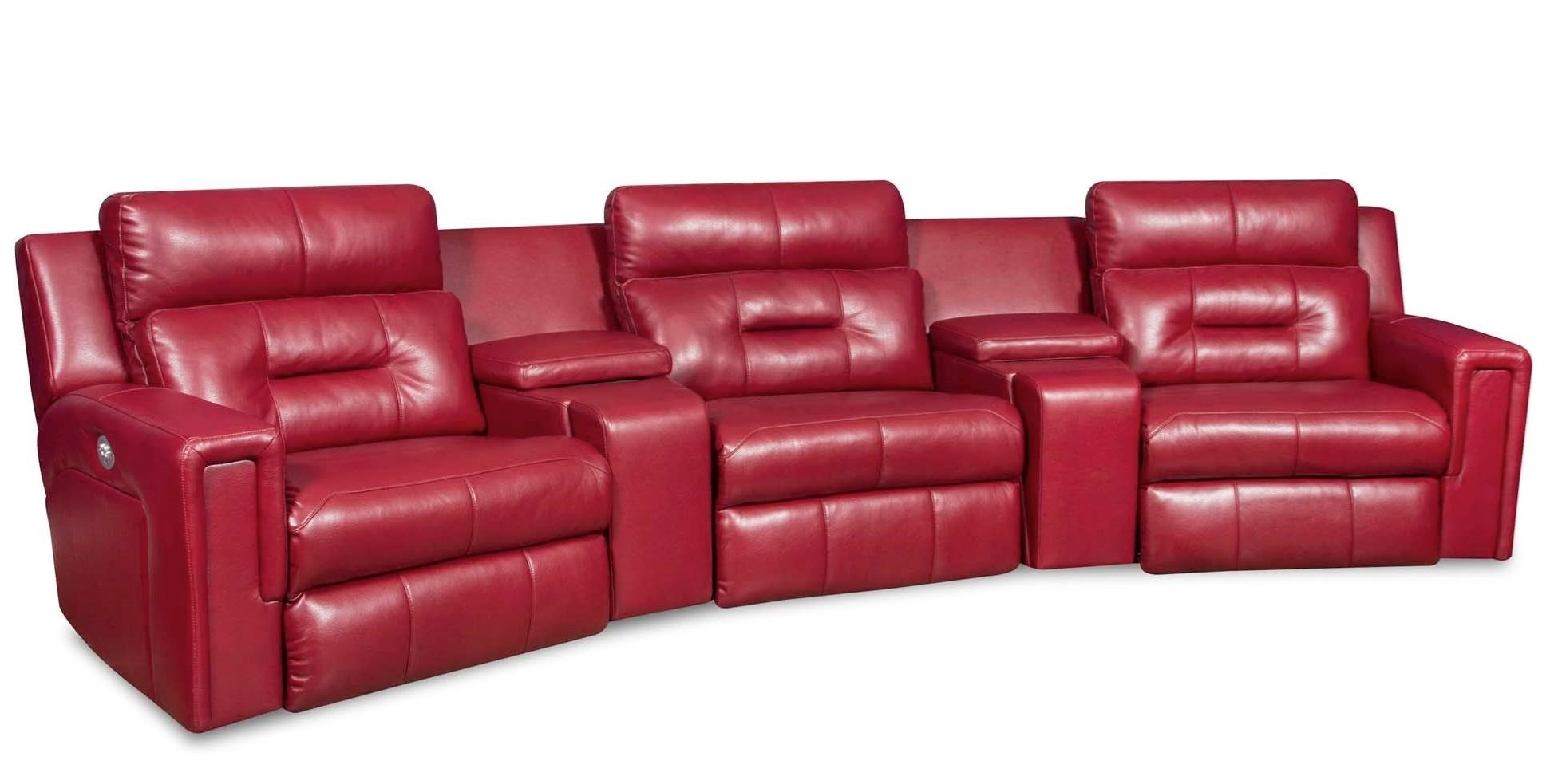 Excel Power Reclining Sectional Sofa by Southern Motion at Furniture Superstore - Rochester, MN