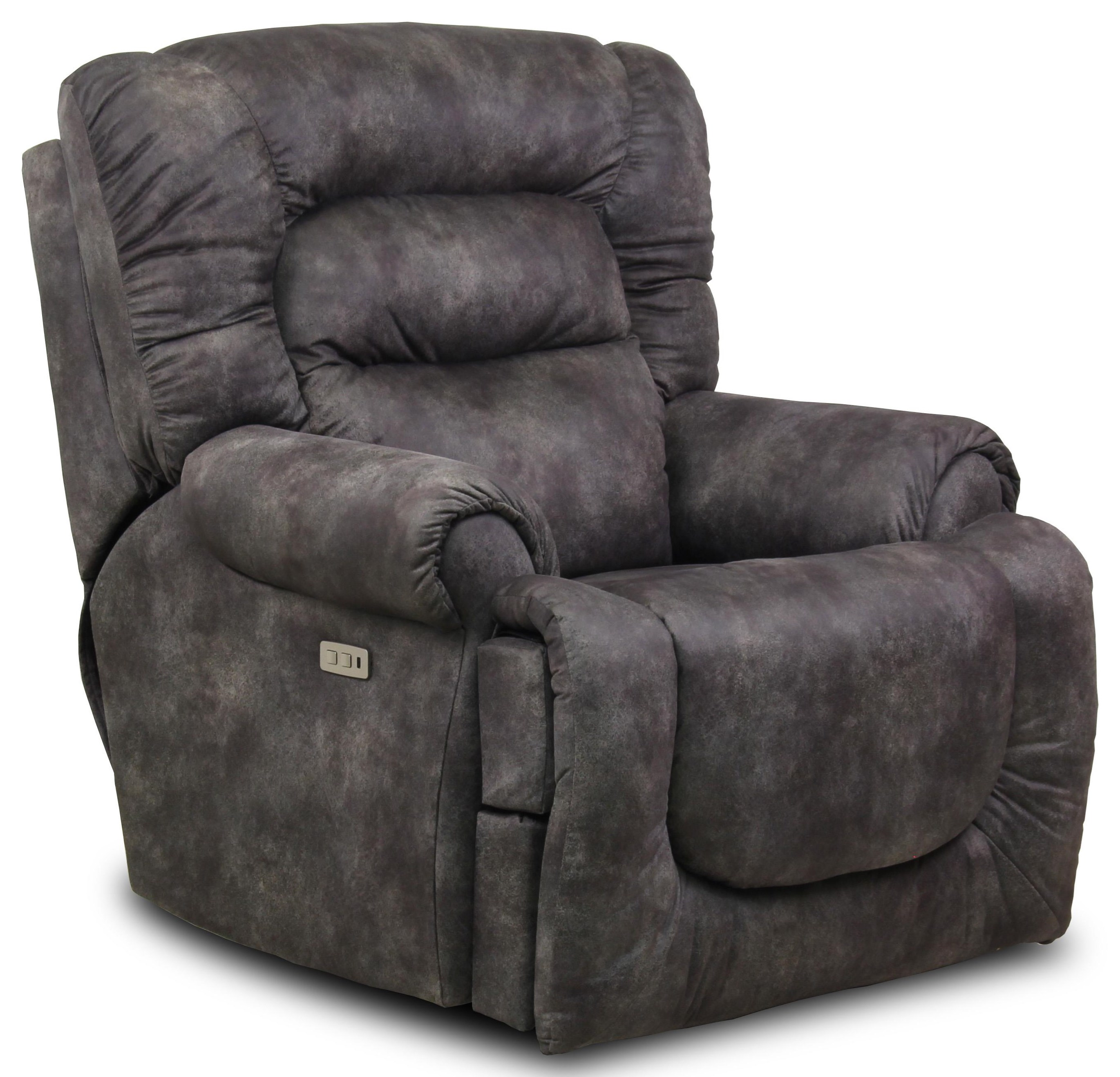 All Star Pwr Headrest Big Man's Wall Hugger Recliner by Southern Motion at Ruby Gordon Home