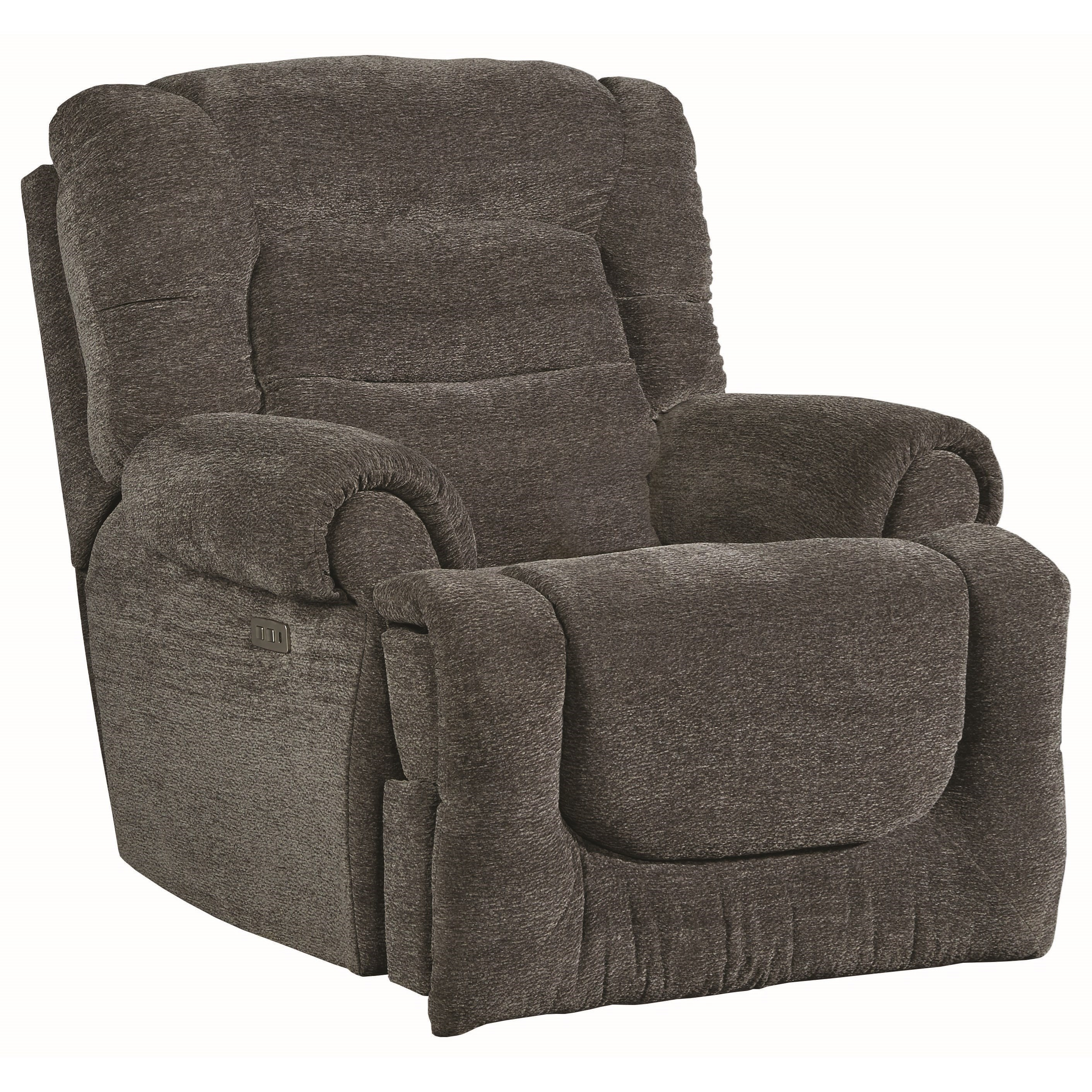 All Star Pwr Headrest Big Man's Wall Hugger Recliner by Southern Motion at Suburban Furniture