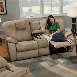 Console Sofa with Power