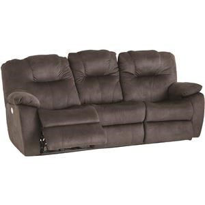 Power Dual Reclining Sofa With Power Headrest