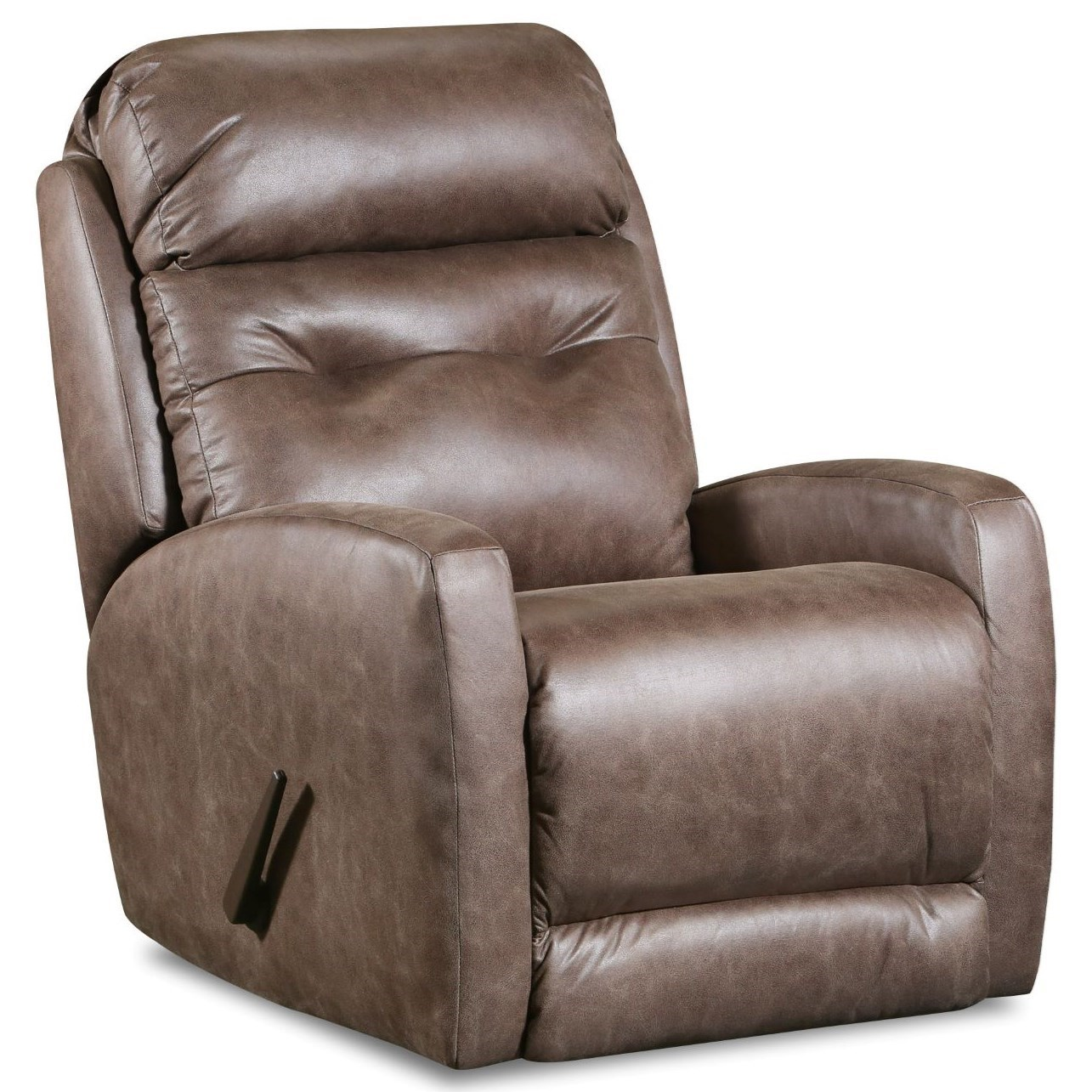 Bank Shot Swivel Rocker Recliner by Southern Motion at Lapeer Furniture & Mattress Center