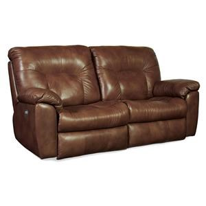 Power Headrests Double Reclining Sofa with Two Seats