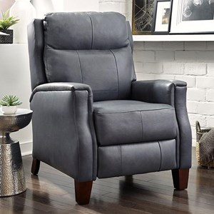 Transitional Power Headrest High Leg Recliner