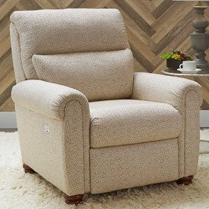 Traditional PowerPlus Low Leg Recliner with USB Charging Port