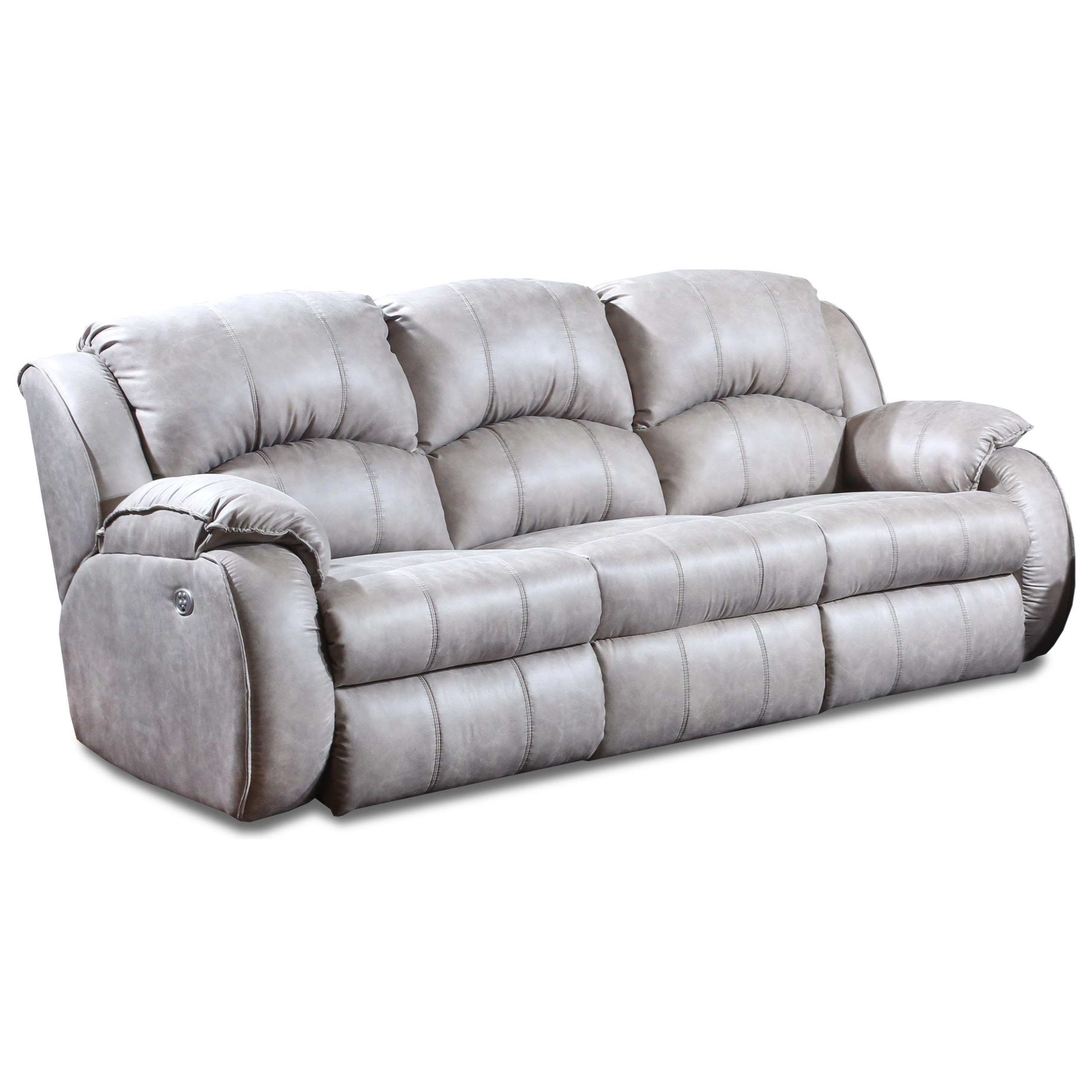 Cagney Power Headrest Reclining Sofa by Southern Motion at Suburban Furniture