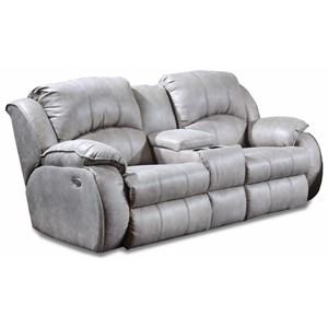 Power Reclining Console Sofa