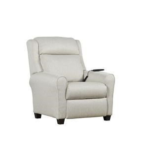 Transitional Bustle Back Recliner