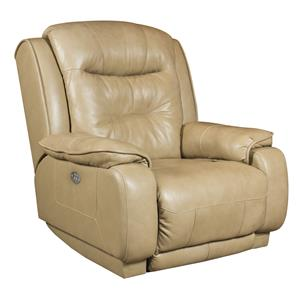 Casual Wall Hugger Recliner with Power Headrest