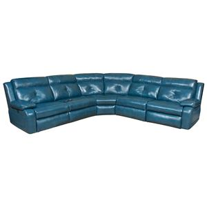Southern Motion Dash  Reclining Sectional Sofa