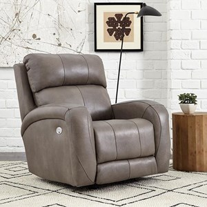 Casual Power Headrest Layflat Recliner with Wireless Power