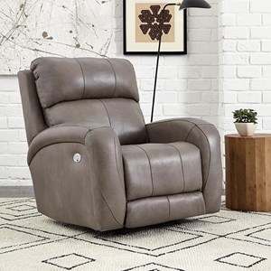 Casual Power Headrest Wallhugger Recliner with Wireless Power