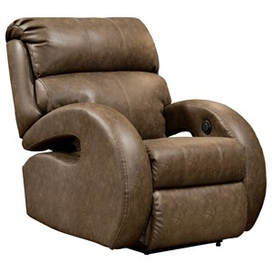 Customizable Power Plus Rocker R Plus Rocker Recliner with Track Armsecliner with Track Arms