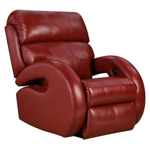 Customizable Rocker Recliner with Track Arms