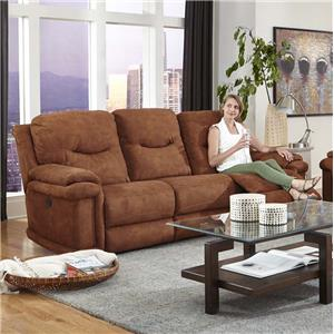 Southern Motion Duran Double Reclining Sofa with Power Plus