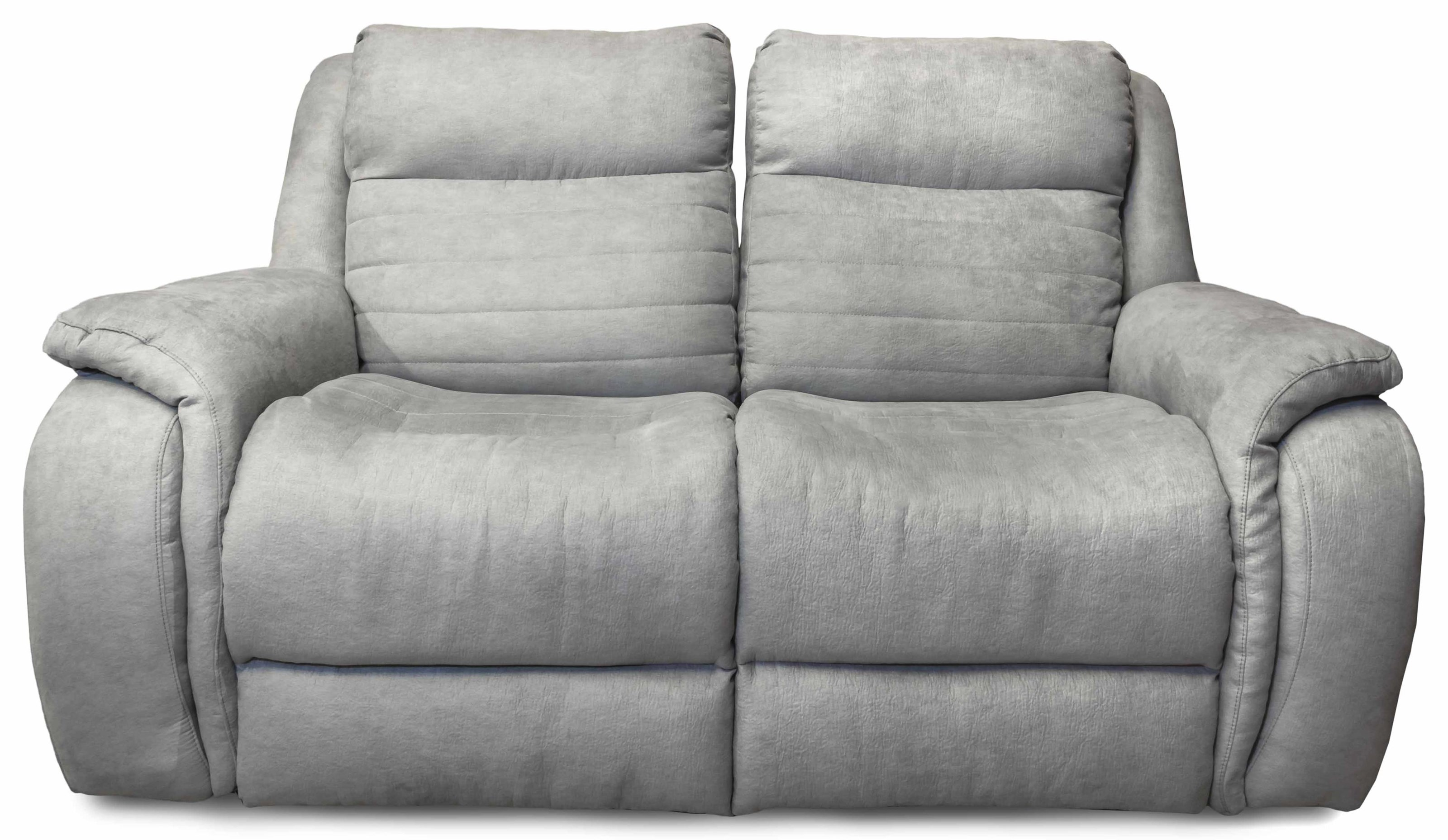 Kipling Double Reclining Power Headrest Loveseat by Design to Recline at Rotmans