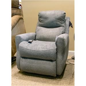 Halifax Coal Socozi - Power Lift Recliner with Heat, Massage, Power Lumbar,and Power Headrest