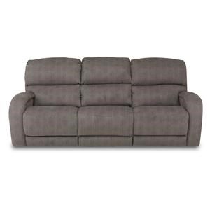 Power Headrest Reclining Sofa with Casual Style for Family Rooms
