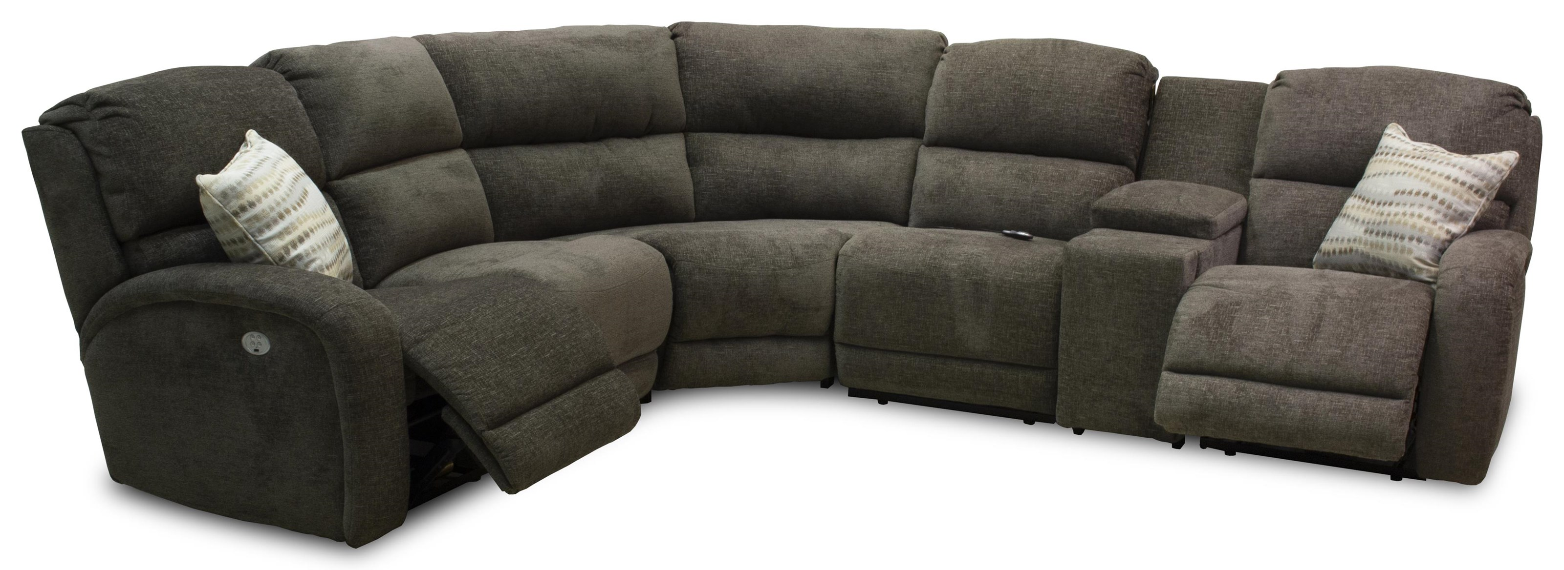 Fandango 6-Piece Power Reclining Sectional by Southern Motion at Ruby Gordon Home