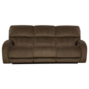 Reclining Sofa with Casual Style for Family Rooms
