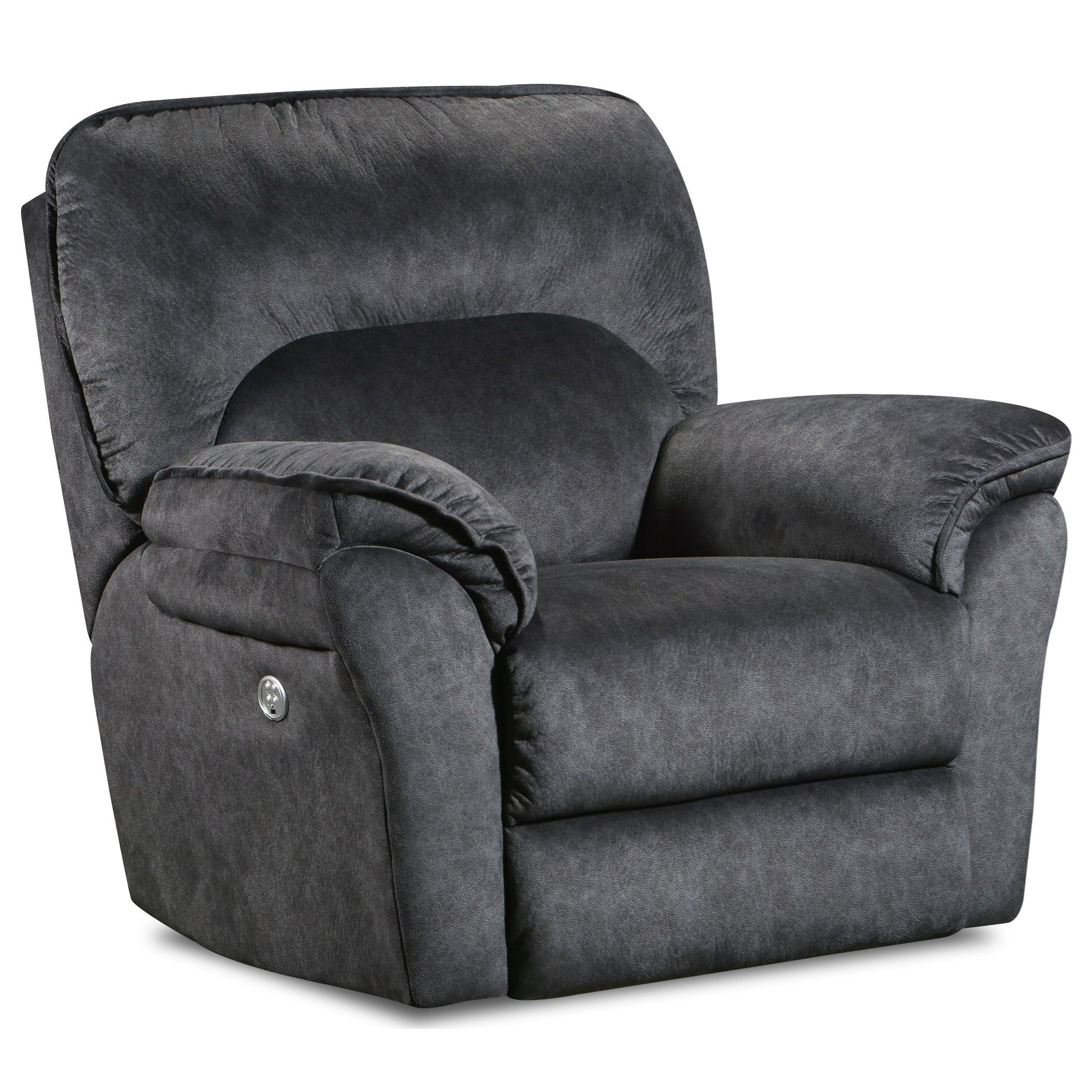 Full Ride Power Headrest Wallhugger Recliner W/ Socozi by Southern Motion at Turk Furniture