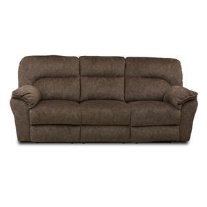 Casual Power Headrest Double Reclining Sofa