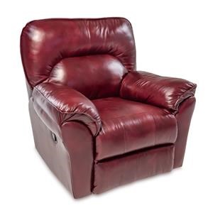 Casual Leather Wallhugger Recliner