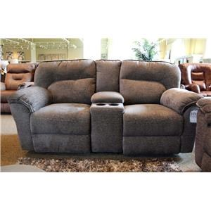 Mink Console Reclining Loveseat