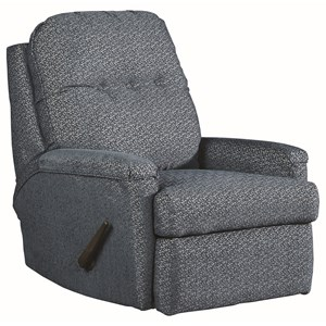 Rocker Recliner with Tufted Back