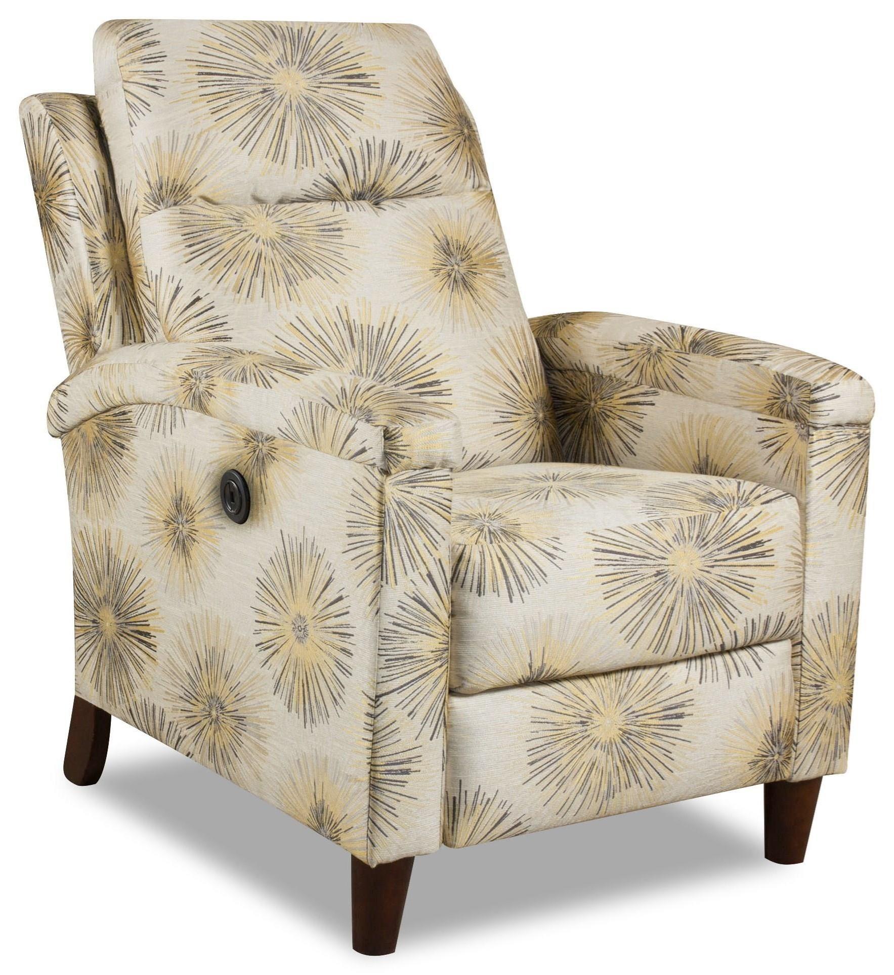 Glitz Hi-Leg Recliner by Southern Motion at Crowley Furniture & Mattress