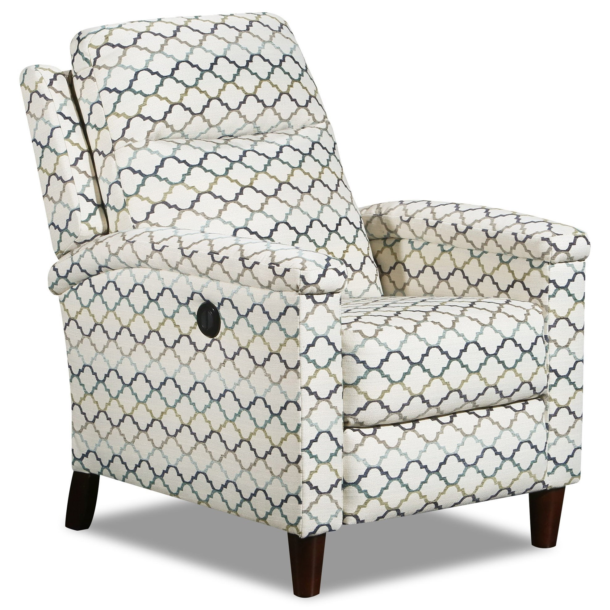 Glitz High Leg Power Recliner by Southern Motion at Furniture and ApplianceMart