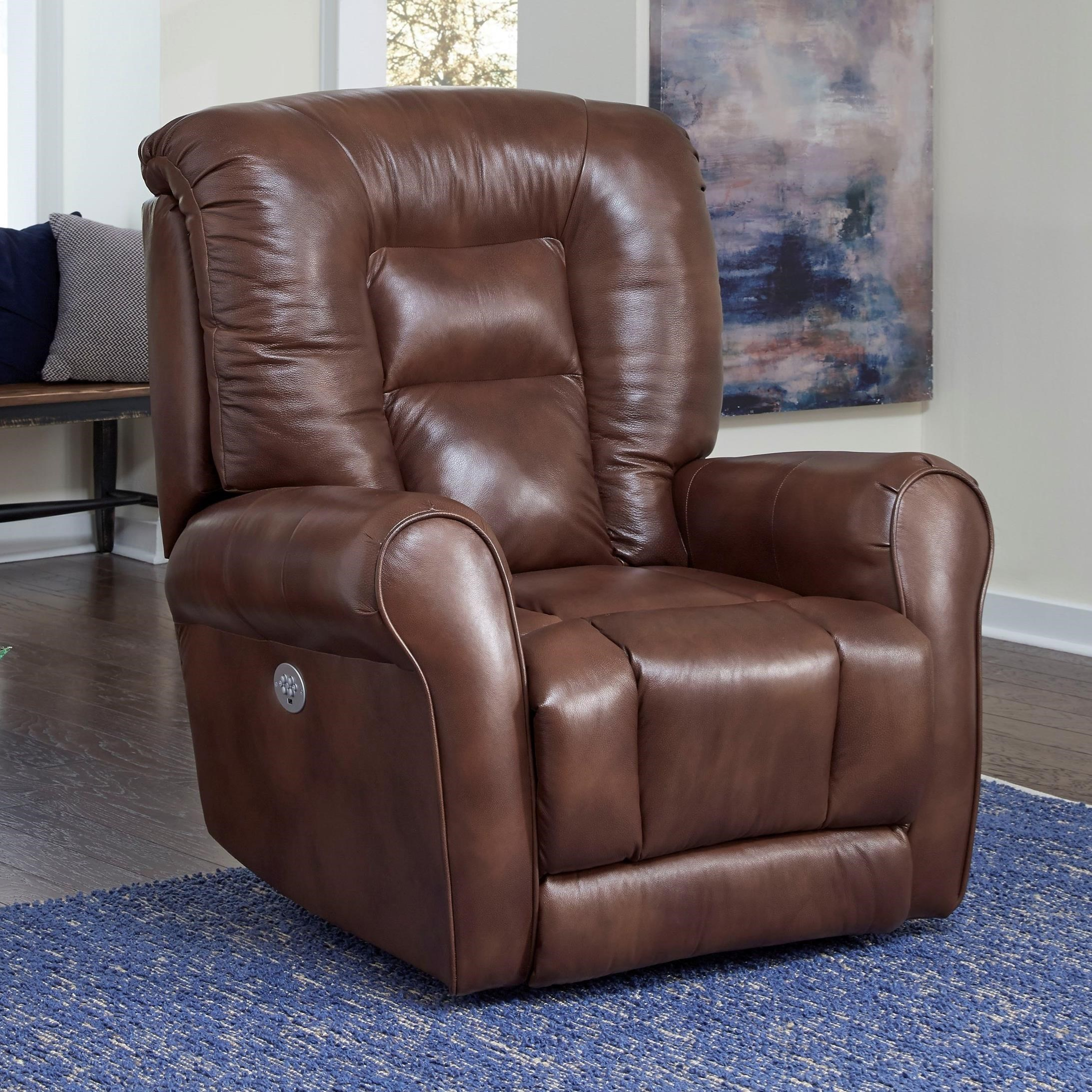 Grand Power Plus Wallhugger Recliner by Southern Motion at Sparks HomeStore
