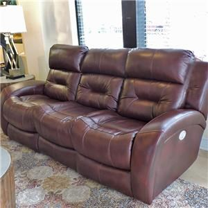 Reclining Sofa w/ Power Headrest and Lumbar Support