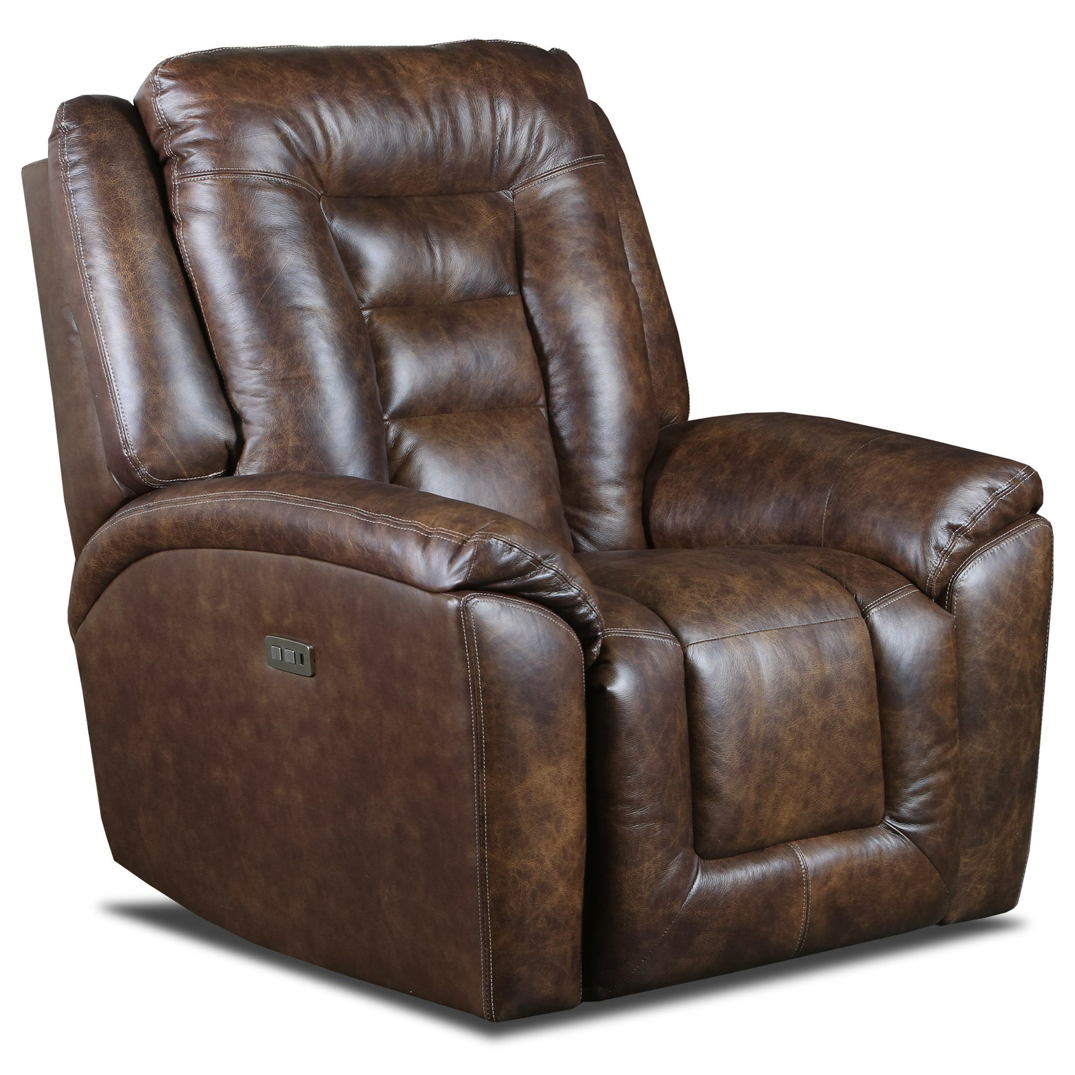 Grid Iron Power Headrest Rocker Recliner by Southern Motion at Sparks HomeStore